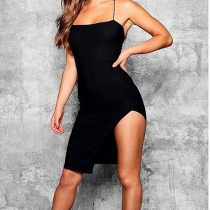 NWT LBD with Thigh Slit
